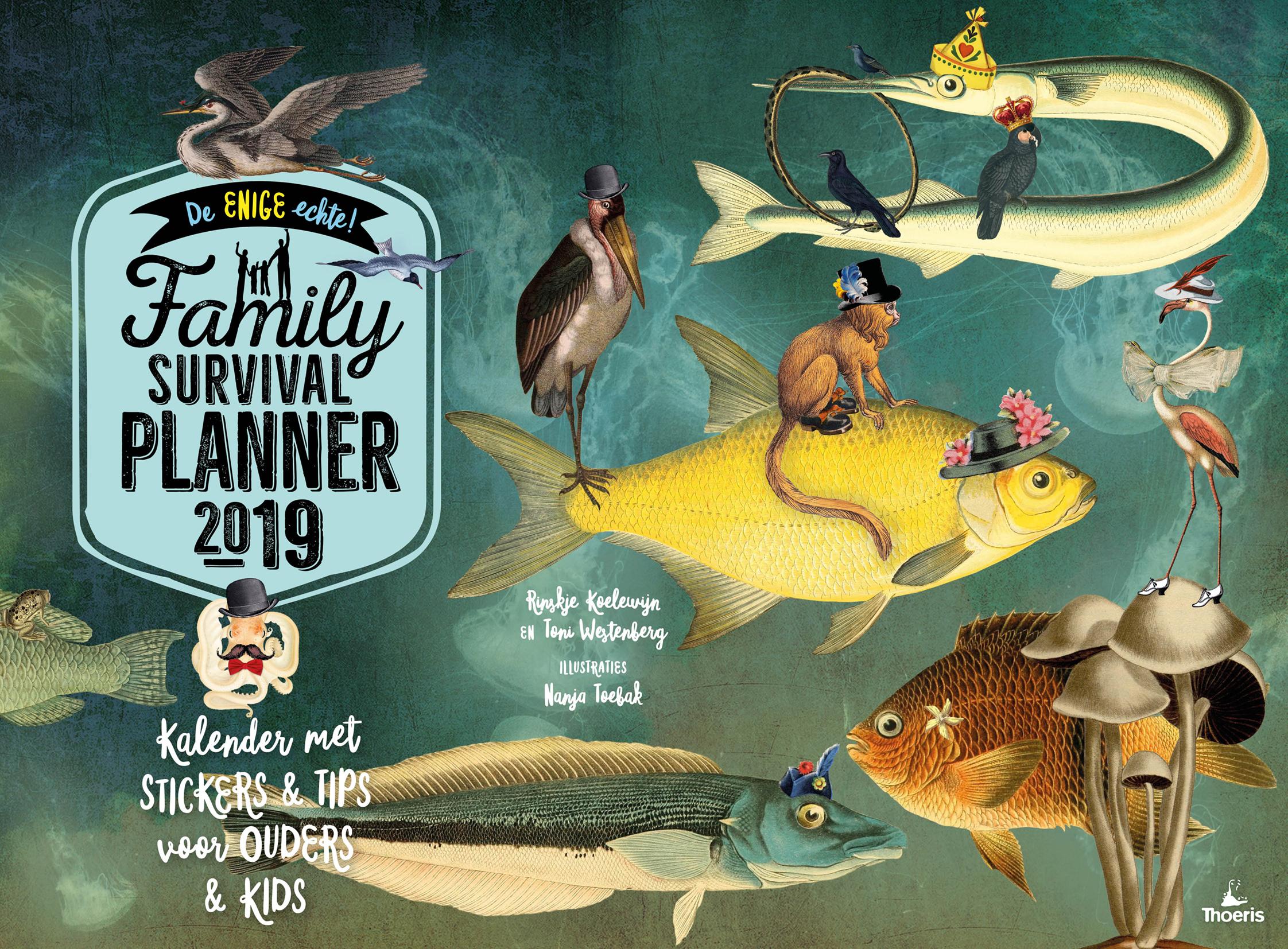 'Family Survival Planner 2019.   Alweer de 13e editie, verschijnt binnenkort!'