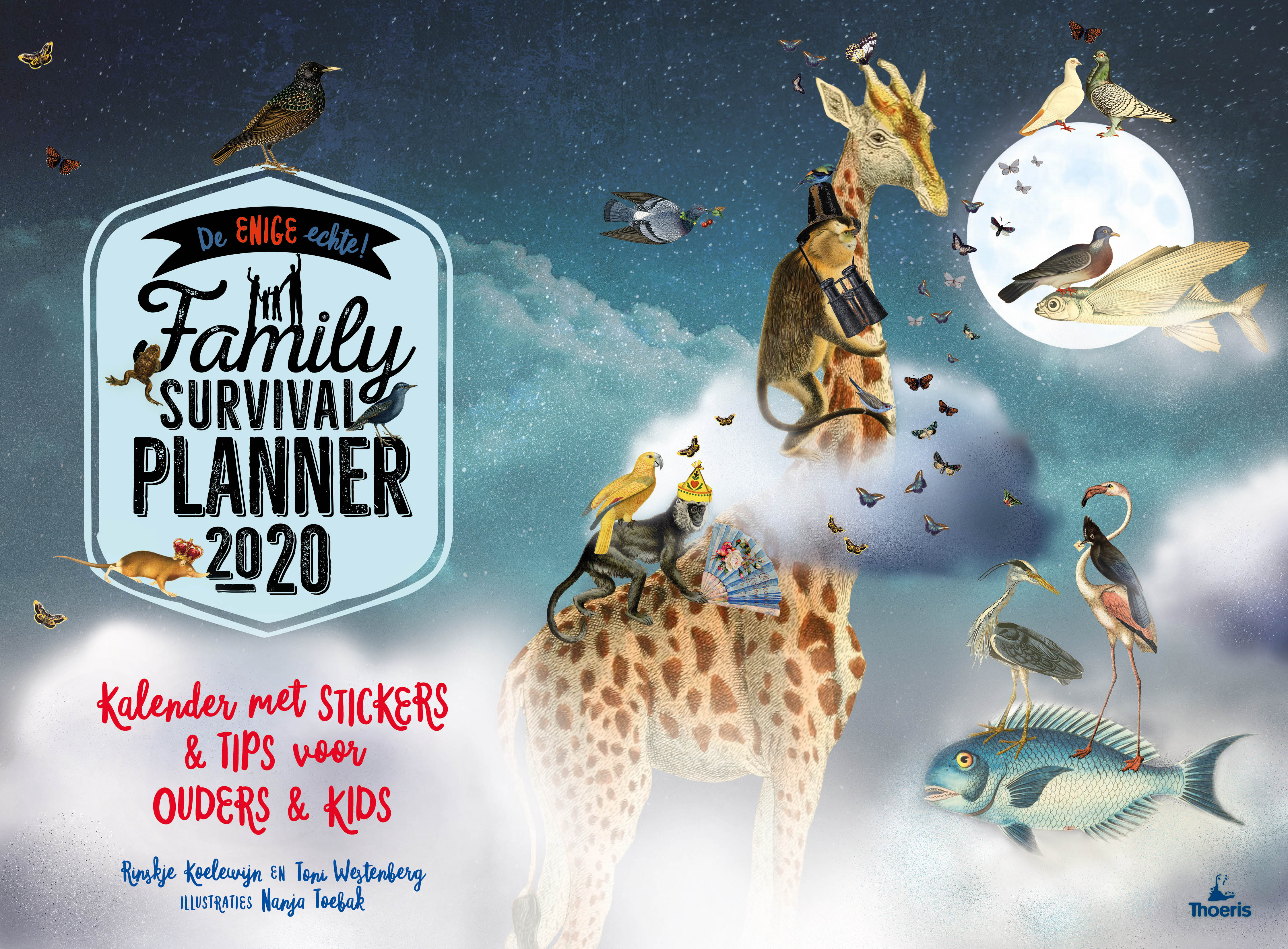 'Family Survival Planner 2020. Verschijnt juli 2019!'