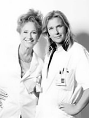 Pauline Dekker en Wanda de Kanter
